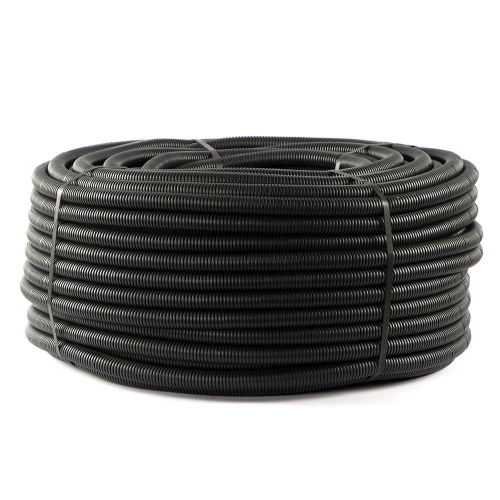 Eraplast 18mm Spiral Boru Siyah ( 100 Mt )