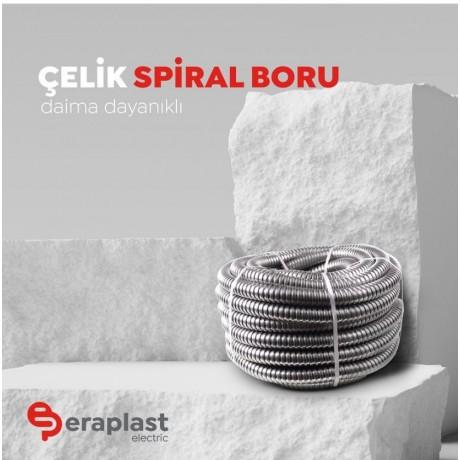 Eraplast 16mm Çelik Spiral Boru